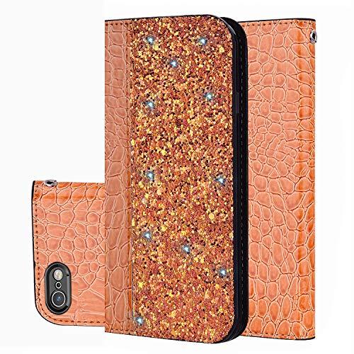 """Preisvergleich Produktbild Handy hülle Tasche Leder Flip Case Brieftasche Etui Schutzhülle für Apple iPhone X XS / XR / XS MAX / 5G 5S ES / 6G 6s / 6 Plus / 7G 8G / 7Plus / 8Plus hülle, 5 Farben (6 Plus(5, 5"""")"""