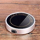 Sayou® Becher WäRmer / KaffeewäRmer USB / TassenwäRmer für BüRo / Hausgebrauch (Silber)
