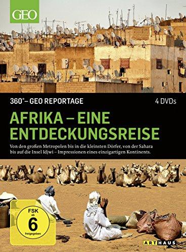 360° - GEO Reportage: Afrika - Eine Entdeckungsreise [4 DVDs] (Menschen Aus Afrika Film-dvd)