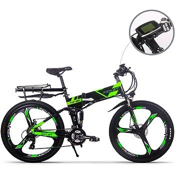 RICH BIT bicicleta de montaña eléctrica RT860 12.8Ah batería LG 7 velocidades Pedelec pantalla LCD