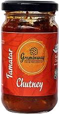 Graminway Khatta Meetha Tamatar Chutney | Sweet and Sour Tangy Tomato Chutney 200 Grams