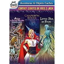 Chaperon Rouge + Alice au Pays des Merveilles + Le Petit Monde Féérique