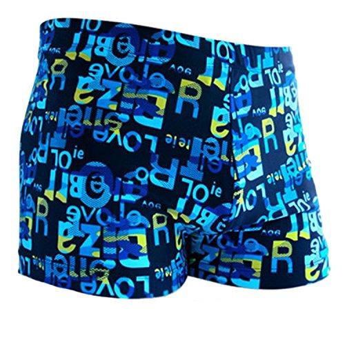 Feblcrew Herren Badeshort blau L -