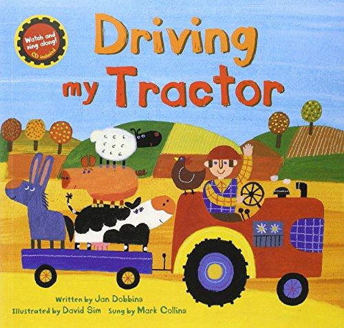 Driving My Tractor (Book & Enhanced CD) por Jan Dobbins
