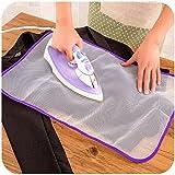 EQLEF® 2 PC planchado almohadillas de calor protectora resistente tela de malla planchado de ropa, Scorch aislamiento Mat Guardia protector
