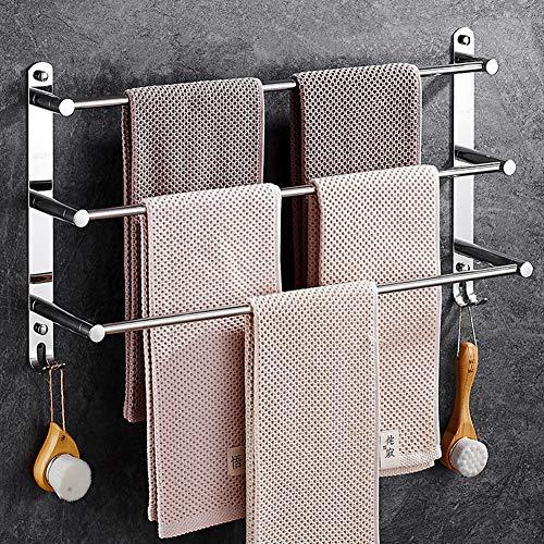 Toallero de acero inoxidable,autoadhesivo/toallero/toallero mural/baño/hotel/cocina toallero de barra