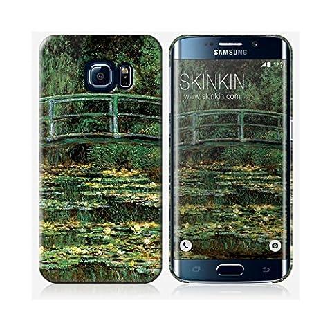 Samsung Galaxy S6 Edge Case, Gehäuse, Schutzhülle - Originales Design : Le Pont Japonais von Claude Monet