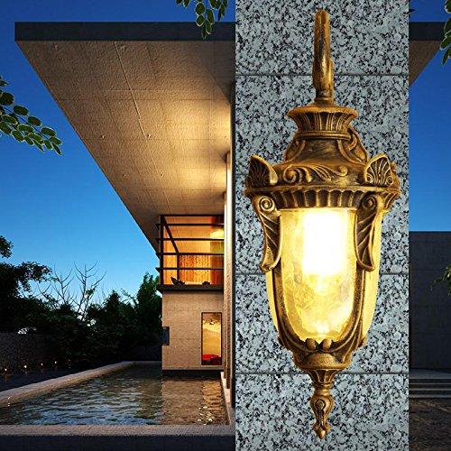 Preisvergleich Produktbild pwne der europäischen Antike Wandleuchte Aussenleuchte vintage Outdoor Garten Licht wasserdicht Balkon Flur Straßenbeleuchtung Garten Leuchten Wandleuchten, preiswert,  einen angenehmen Einkauf