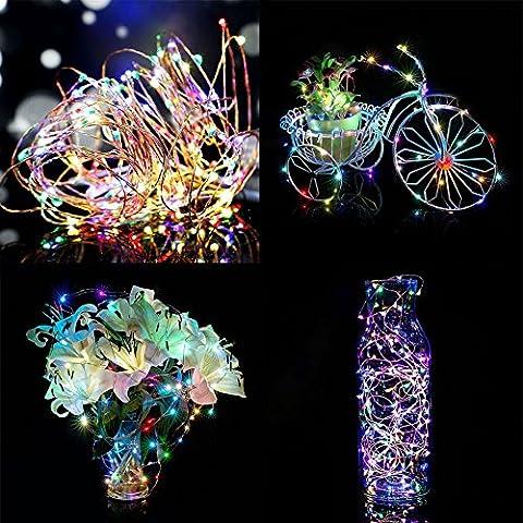 Gladle Led String Lights 30 Leds 9.8FT Dekorative Fee batteriebetriebene