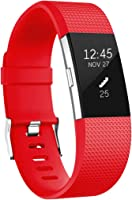 HUMENN For Fitbit Charge 2 Strap, Charge 2 Bands Adjustable Replacement Sport Accessory Wristband for Fitbit Charge2...