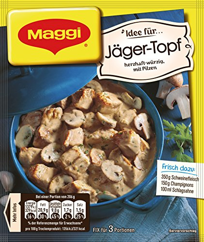 Maggi Herzhafter Würzig mit Pilzen, 30 g