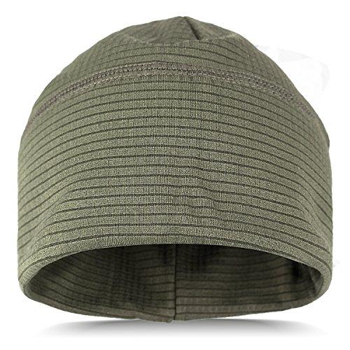 Tarjane Thermo Mütze Sportcap aus schnell trocknendem Material Oliv OneSize