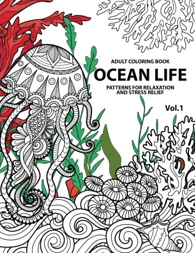 ocean-life-ocean-coloring-books-for-adults-a-blue-dream-adult-coloring-book-designs-sharks-penguins-