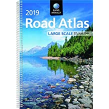 2019 Road Atlas Large Scale: Lsra (Rand McNally Large Scale Road Atlas USA)