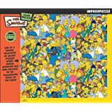 BV Leisure - The Simpsons Group 550 Piece Jigsaw Puzzle