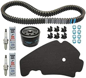 Piaggio 1r000402 Maintenance Kit For Maxiroller Original 500 Mp3 2010 2013 With Variomatic Guides Without Brake Pad Auto