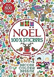 Noël 100% stickers