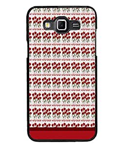 PrintDhaba Heart Pattern D-1664 Back Case Cover for SAMSUNG GALAXY GRAND 3 (Multi-Coloured)