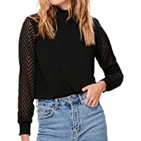 ONLY Damen Onlnew Kayla L/S Top Noos WVN Bluse
