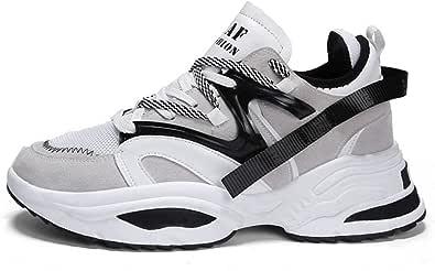 Sneakers da Uomo Scarpe Casual Autunnali Scarpe da Ginnastica all'aperto con Lacci Moda Scarpe da Ginnastica Fitness Unisex
