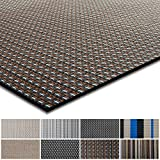 casa pura Kitchen Rug   Easy to Maintain Kitchen Runner   Suitable for Hallway & Office etc   Colourful Design Flat Weave Carpet, 90x350cm