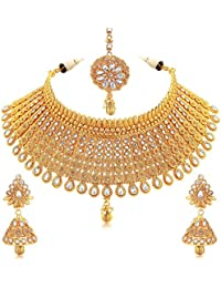 Sukkhi Gold Plated Jewellery Set for Women (N73395)