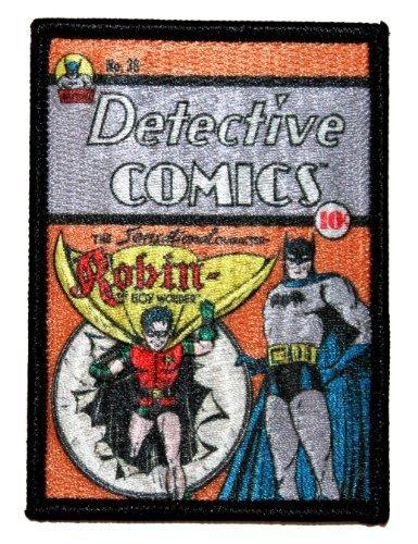 Robin Boy Wonder Batman DC DETECTIVE COMICS Buch Issue Eisen auf Applikationen Patch von cool-patches (Boy Robin Wonder)