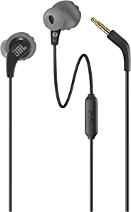 JBL ENDURRUNBLK Endurance Run Sweatproof Sport In-Ear Earphone - Black (Pack of1)
