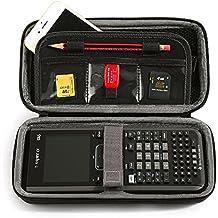 LuckyNV Portable Schutzhülle für Texas Instruments TI-Nspire CX / CAS-Grafik-Rechner und Mesh-Tasche und Extra-Raum für Speicherkarte und Stift und Zubehör