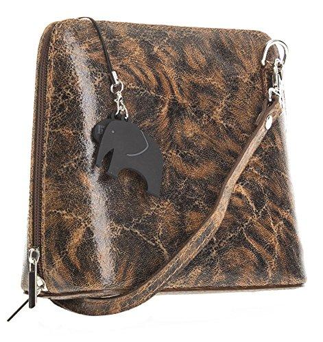 Big Handbag Shop, Borsa a tracolla donna Taglia unica Busy - Brown