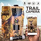 IPS IP SMART Wildlife Camera,1080P Trail Camera IP67 Waterproof Hunting Camera HD Infrared