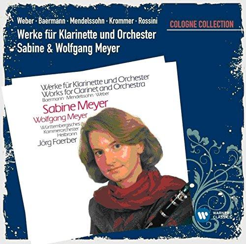 Preisvergleich Produktbild Werke Für Klarinette und Orchester