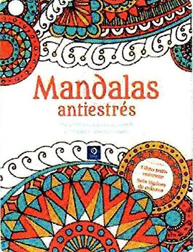 MANDALAS ANTIESTRÉS (MOMENTOS CREATIVOS( LATA + LAPICES COLORES))