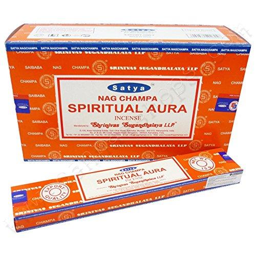Nag Champa Incienso Spiritual Aura - x12