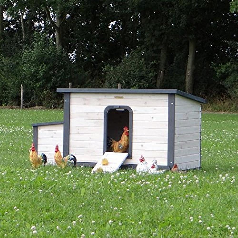 Hühnerställe Eva mit praktische Schublade 149x78x80cm