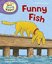 Oxford Reading Tree Read with Biff, Chip, and Kipper: First Stories: Level 2: Funny Fish (Read at Home 1a)