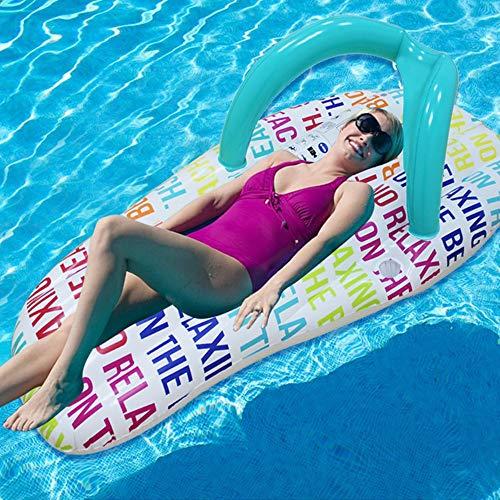 Wasser Pantoffeln schwimmende Reihe schwimmendes Bett Mode Pantoffeln Schwimmring Wasser aufblasbare Schwimmring Luftkissen Wasser schwimmendes Bett Outdoor-Produkt, das Bett Schwimmen, Bett Erwachse