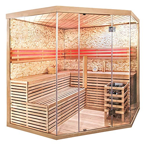 Home Deluxe – Traditionelle Sauna – Skyline XL BIG - 3