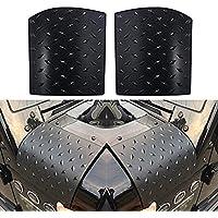 Cowl Body Armor, Paar Diamond Plate Schwarz Cowl Fender Body Armor für 2007-2017 Jeep Wrangler