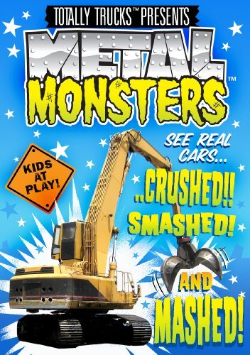 Totally Trucks: Metal Monsters [DVD] [Region 1] [US Import] [NTSC] - Monster-truck-dvd