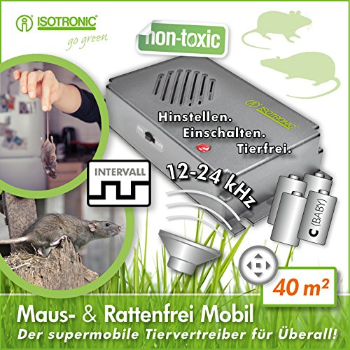 isotronic-long-life-battery-operated-sonic-rat-and-mouse-repellent-ultrasonic-rat-mice-repeller