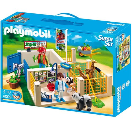 Playmobil Super Set Animal Care Station - Kits Figuras