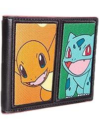 Bioworld POKEMON Starting Characters Bi-Fold Wallet Porte-monnaie, 12 cm, Multicolore (Multi Colour)