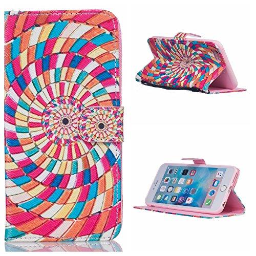 Voguecase® für Apple iPhone 5C hülle,(Blue Sand 01) Kunstleder Tasche PU Schutzhülle Tasche Leder Brieftasche Hülle Case Cover + Gratis Universal Eingabestift Farbe wirbeln