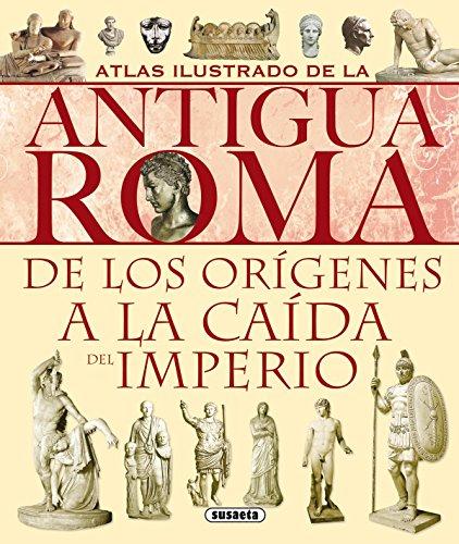 Atlas Ilustrado Antigua Roma por Chiara Melani