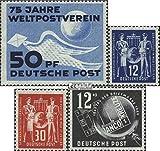 DDR 242,243-244,245 (kompl.Ausg.) Jahrgang 1949 komplett 1949 UPU, Gewerkschaft, Philatelie (Briefmarken für Sammler)
