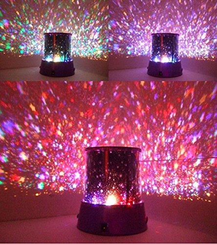 LED Sternenhimmel Romantik Himmel Planetarium Projektor Lampe Nachttischlampe Romantische Lampe Kinderzimmer Schlafzimmer Nachtlicht für Kinder Dekoration von der Marke PRECORN