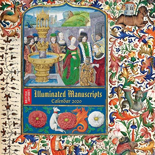 British Library Illuminated Manuscripts – Bilderhandschriften der Britischen Nationalbibliothek 2020: Original Flame Tree Publishing-Kalender [Kalender] (Wall-Kalender)