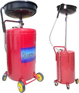 Uisebrt 80l Ölauffangbehälter Kfz Ölauffangwagen Ölablassgerät Altöl Ölauffangwanne Pneumatisch Auto