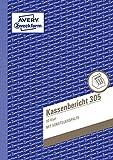 Avery Zweckform 305 Kassenbericht (A5, mikroperforiert, 50 Blatt) weiß